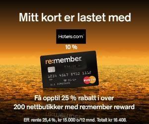 beste kredittkort med rabatter