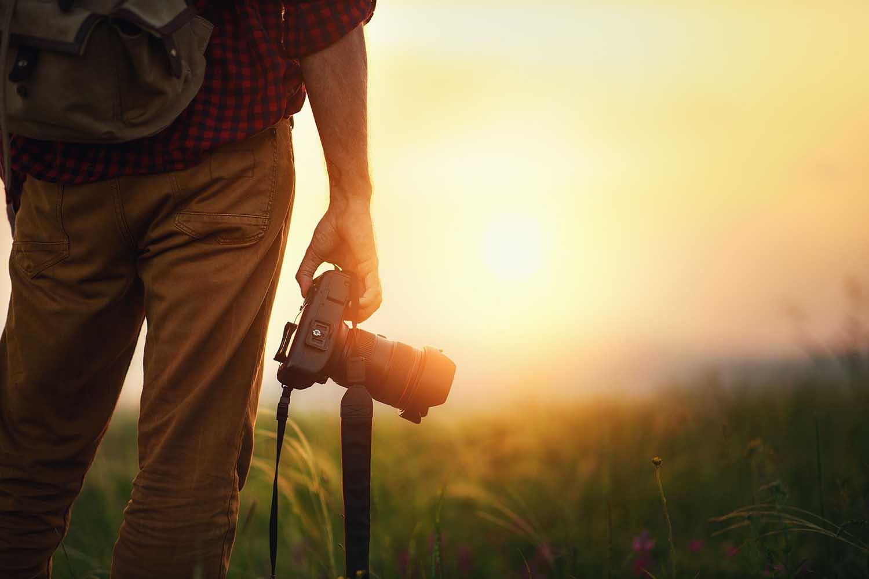 forsikre kamera på reise