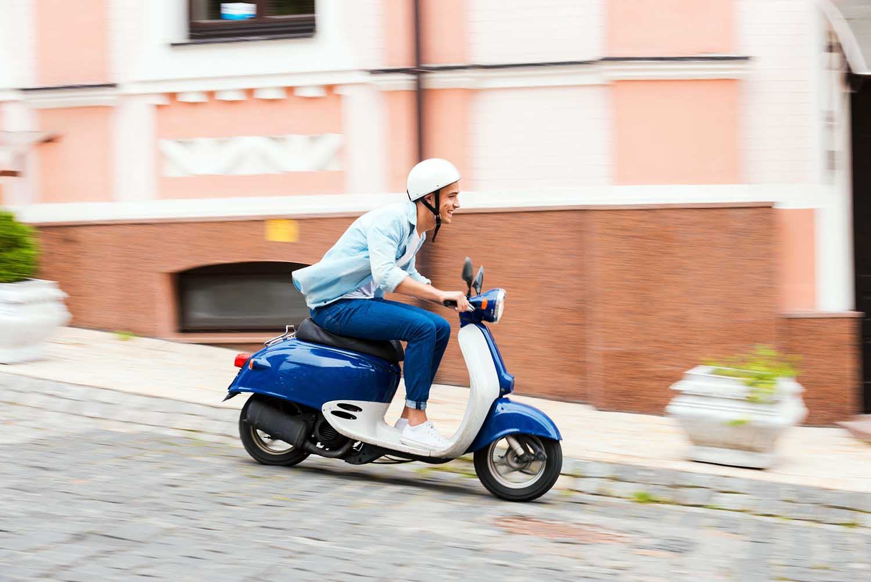 forsikre moped