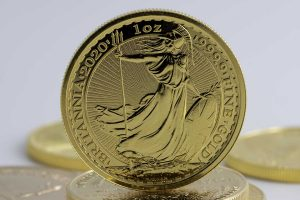 Gold Britannia gullmynt