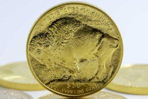 Gold Buffalo mynt