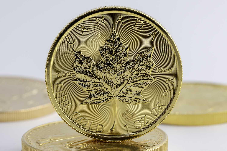 canadian gold maple leaf gullmynt