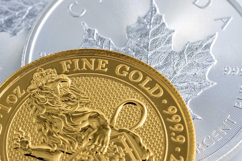 investeringsmynter i rent gull